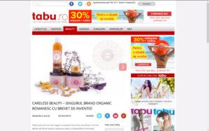 Tabu.ro despre Careless Beauty - 2 martie 2015