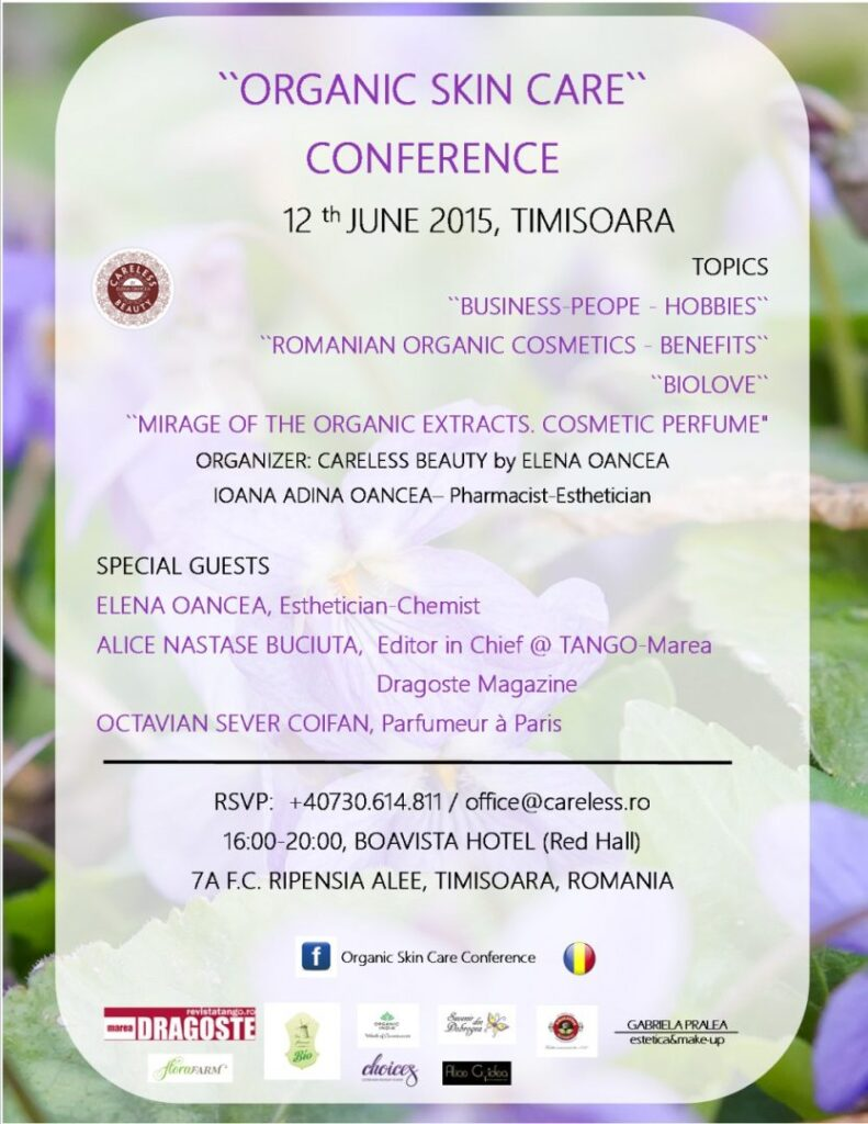 Organic Skin Care Conference