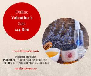 Online Valentines Sale - CarelessBeauty.ro