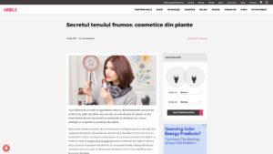 Secretul tenului frumos - cosmetice din plante - Adina Oancea - Careless Beauty - 2