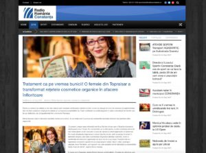 aparitie in presa Radio Constanta - 23.08.2017